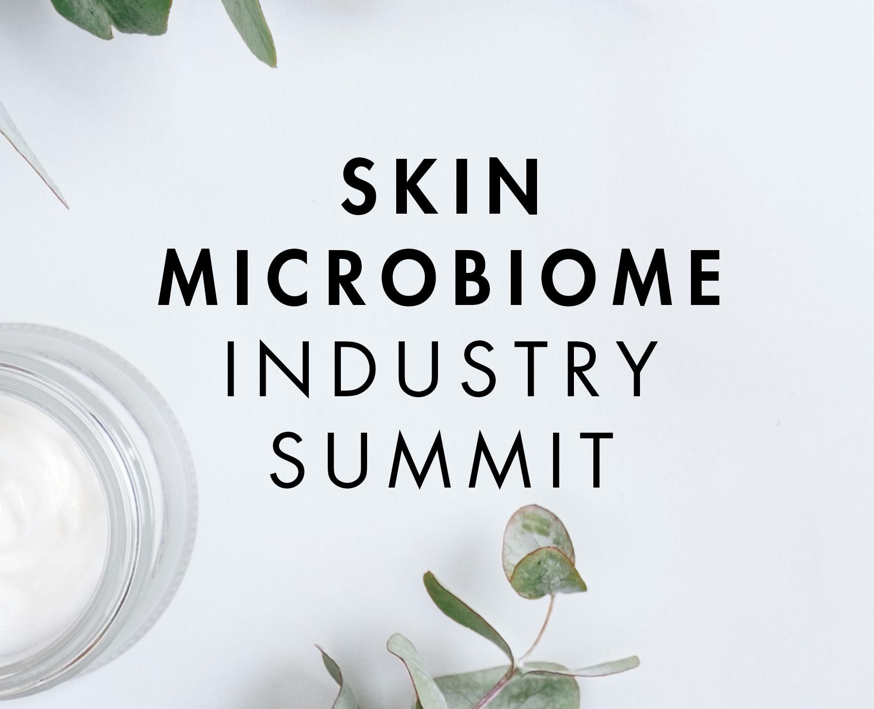 skin microbiome summit